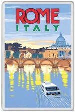 ROME - JUMBO FRIDGE MAGNET - ITALY ITALIAN VATICAN POPE ROMAN ST PETER TREVI