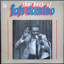 FATS DOMINO THE BEST OF FATS 33T LP ORIGINAL LIBERTY SLBX 340.754 MINT LANGUETTE