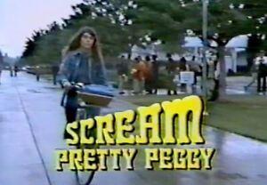 Scream, Pretty Peggy - 1973 Ted Bessell, Bette Davis (UK/Euro dvd disc)