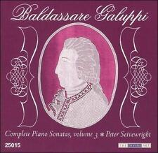 Baldassare Galuppi: Complete Piano Sonatas, Vol. 3, New Music