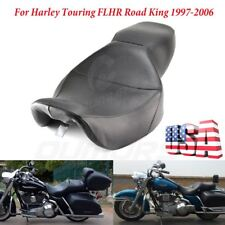 Low-Pro Driver Passenger Two Up Seat For Harley Touring Road King FLHR 1997-2006