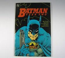 DC Comic **BATMAN  YEAR TWO*  Graphic Novel 1990 (a)