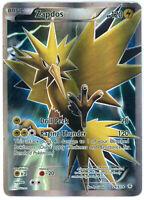 Pokemon XY Generations Zapdos Full Art Ultra Rare Holo 29/83