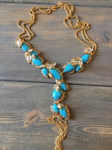 Alexis Bittar Turquoise Long  Necklace