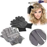 New Hair Straightener Curling Perm Hairdressing Heat Resistant Finger Glove