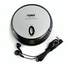 New Naxa Nx-319 Portable Cd Player w/ Earbuds Black Npc-319 Lcd Display Stereo