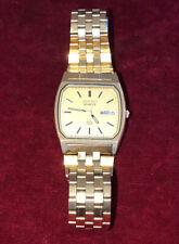Vintage Men's Seiko Gold Tone SQ Quartz Watch Circa 1980