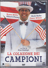 Dvd «LA COLAZIONE DEI CAMPIONI • BREAKFAST OF CHAMPIONS» con B.Willis nuovo 1999