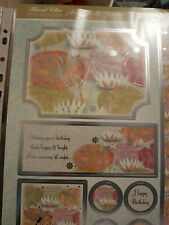 Hunkydory Floral chic - The lily pond- kit