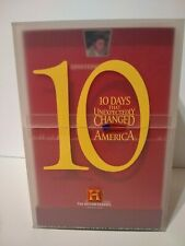 History Channel, 10 Days That Unexpectedly Changed America, 10 DVD Set