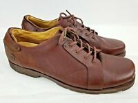 Dr. Martens Brown Leather Lace Up Oxford Men's Shoes Size 14 11566
