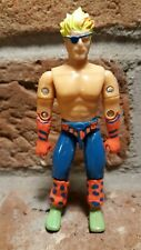 """Vintage 1991 Remco Shockwave 3.75"""" AAWF Action Figure Wrestling 1990 rare forces"""