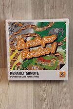 Jeu Renault Minute - En route pour l'aventure - objet publicitaire NEUF