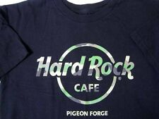 Hard Rock cafe ® Pigeon Forge - Camo Design On Black S Small T-Shirt New Nwot