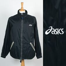 MENS VINTAGE ASICS 90'S 00'S WATERPROOF CAGOULE RAIN JACKET FESTIVALS OUTDOORS L