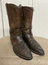 RED WING Pecos Men's Brown Leather Western Boots 9801 *Made in USA* Size 10.5 D