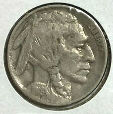 1918 D Very Fine VF Buffalo Nickel 5C