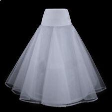 Bride Gowns A-Line White Slips 1 Hoop Wedding Dress Fashion Petticoat Underskirt