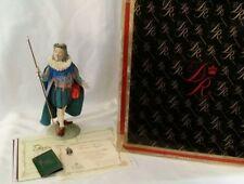 "Mint Duncan Royale History Of Santa Sir Christmas Figurine With Original Box 12"""