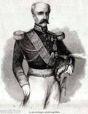 Duca Riccardo de' Sangro,Maresciallo Regno di Napoli.Principe di San Severo.1861