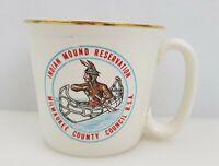 VTG Boy Scouts Coffee Mug BSA Camp Souvenir Indian Mound Reservation Milwaukee