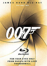 James Bond Blu-Ray Collection - Vol. 2 (Blu-ray Disc, 2008, 3-Disc Set, Checkpoint Sensormatic Widescreen)
