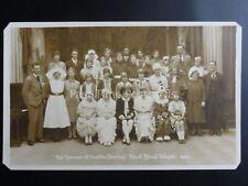 THE ROYAL BLIND SCHOOL Perform THE TERROR OF CASTLE DARING c1929 RP Postcard