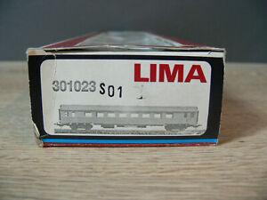 D172)  Leerpackung EMPTY box  Leerkarton Lima 301023 H0 SNCF TEE Inox 1kl