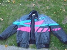 Vintage Polaris Indy Leather Snowmobile Coat XXL Hein Gericke