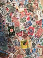 World Stamps. Off paper. 150 Mixed randomly. Buy 2 get a free gift