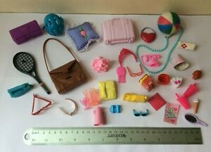 Bundle / lot of doll accessories for fashion doll