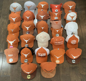 Texas Longhorns NCAA Hat Visor Cap Flatbill Adjustable New Era