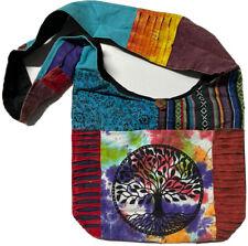 Boho Hippy Sling Bag Hippie Beach Handbag Shoulder Festival Tree Gheri
