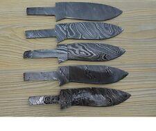 ~HANDMADE~5/Damascus steel BLANK BLADES FOR KNIFE MAKING FIX BLADE KNIVES