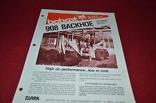 Bobcat Skid Loader 908 Backhoe Attachment Dealers Brochure DCPA2