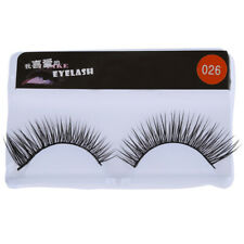 Taobaopit New 10 Pair Reusable Long Fake False Eyelashes Glue Adhesives Eye T1H