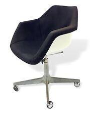 sedia poltrona conchiglia design charles eames per herman miller anni 50 vintage