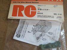 Tamiya Road Wizard Porsche 956 & Toyota Toms Flat Speed Control Resistor Vintage