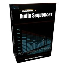 AUDIO SEQUENCER SAMPLER MIXER SOFTWARE MUSIC CREATION