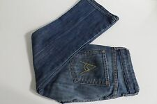 7 For All Mankind Crop A Pocket Jeans Size 27 Distressed 88% Cotton