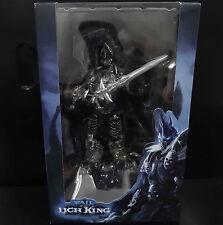 "WOW World of Warcraft Arthas Fall of The Lich King Arthas Menethil figure 7"" new"