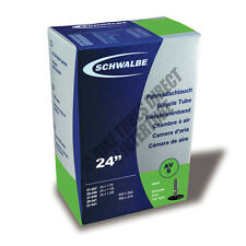 "24"" x 1 1/8"" 1 3/8"" (600 x 28A / 37A) Schwalbe Tube AV9 Schrader Valve [S62-1]"