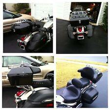 Coffre Noir Rigide Porte-bagages Tour Pack Harley Davidson Road King VN 2000 800