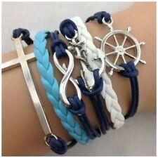 Handmade Alloy Beach & Nautical Fashion Bracelets