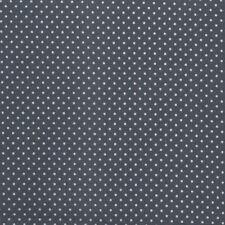 Au Maison Wachstuch Dots, Punkte Midnight Blue beschichtete Baumwolle 0,5 Meter