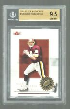 2001 FLEER AUTHORITY FB #126  SAGE ROSENFELS  RC  BGS 9.5  GEM MINT  541/1350