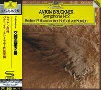 Herbert Von Karajan - Bruckner: Symphony No. 2 [CD New]