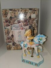 Cherished Teddies Virginia 506206 I'm So Merry Going Round With You 1998