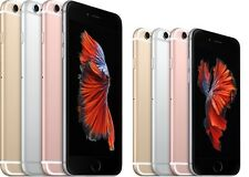 Apple iPhone 6S, 6S Plus Factory Unlocked Rose/Gold/Black 64/128 Smartphone