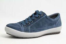 Legero Schuhe blau echt Leder komfort Wechselfußbett Damen Schuhweite G